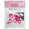 Body Parts Cutter Set - 5pc