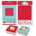 Christmas Cake Boxes - Pack of 4
