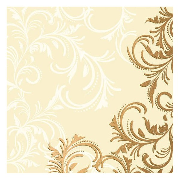 Grace Cream Napkins - 20pk