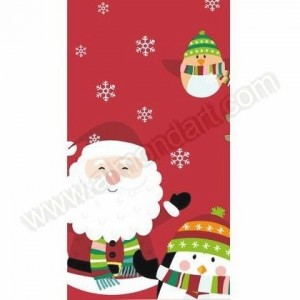 Winter Santa Fun Table Cover