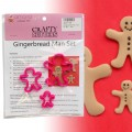 Gingerbread Man Cutter Set - 3pc