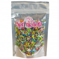 Sprinkletti Rainbow Mix Sprinkles - 100g