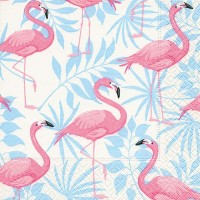 Flamingo Napkins - 20pk - 3ply
