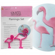 Flamingo Cutter Set - 2pc