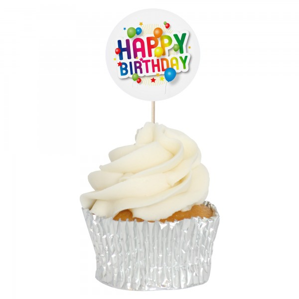 Outstanding Buy Happy Birthday Cupcake Toppers 12Pk Online Birthday Cards Printable Trancafe Filternl