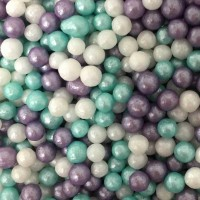 Ice Mix Glimmer Pearl Sprinkles - 80g