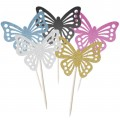 Butterfly Cupcake Toppers - 6pk