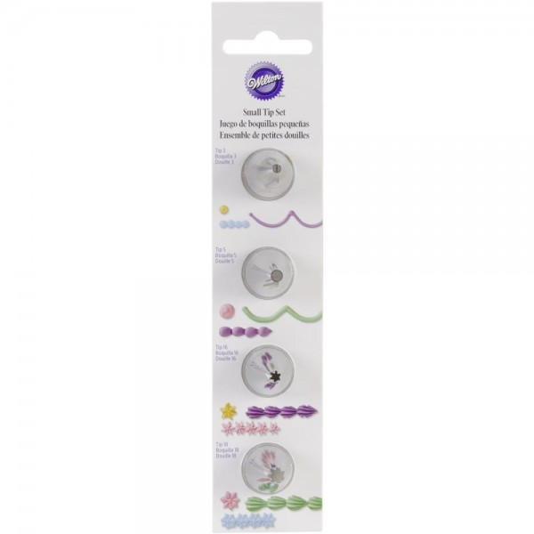 Wilton Small Tip - Set of 4