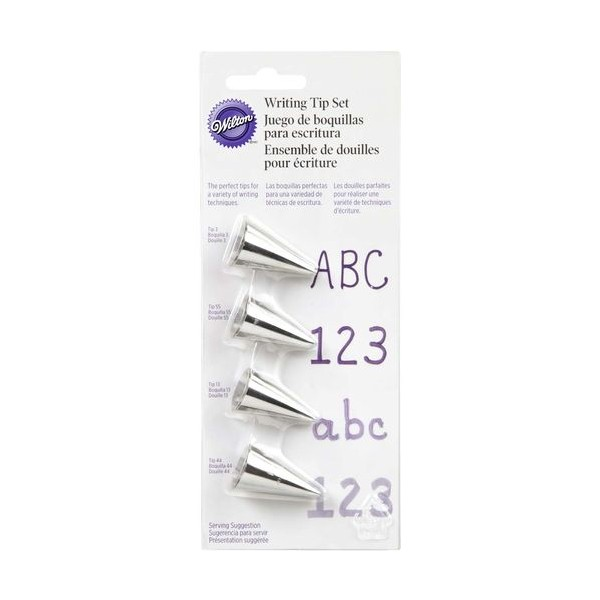 Wilton Writing Tip - Set of 4