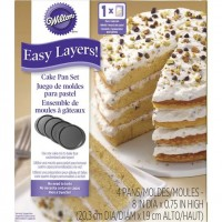 Wilton Easy Layers Cake Pan Set