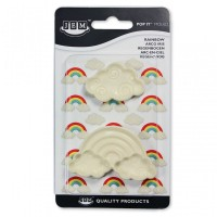 Jem Easy Pops Mould - Rainbow - Set of 2