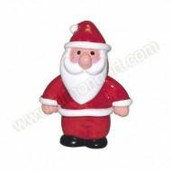 Plastic Standing Father Christmas