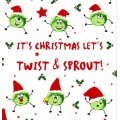 'Twist & Sprout' Novelty Christmas Toilet Paper Roll