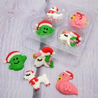 Christmas Unicorn & Friends Pipings - 12pk