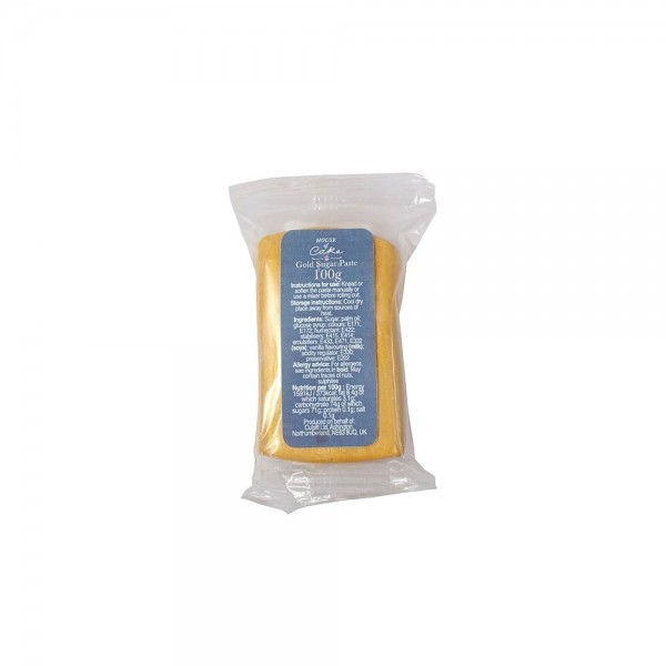 House of Cake Gold Ready To Roll Icing - 100g