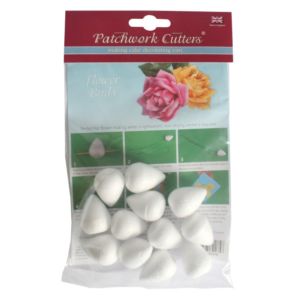 Patchwork Cutters Flower Buds- 12 pack