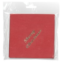 Sherry Christmas Cocktails Lunch Napkin 15/pk
