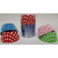 Polka Dot Cupcake/Muffin Cases - 60pk