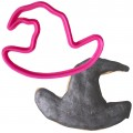 Crafty Cutters Plastic Witches Hat Cookie Cutter