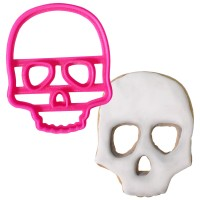 Crafty Cutters Plastic Scull Cookie Cutter
