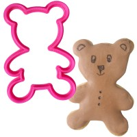 Crafty Cutters Plastic Teddy Cookie Cutter