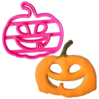 Crafty Cutters Plastic Pumpkin Cookie Cutter