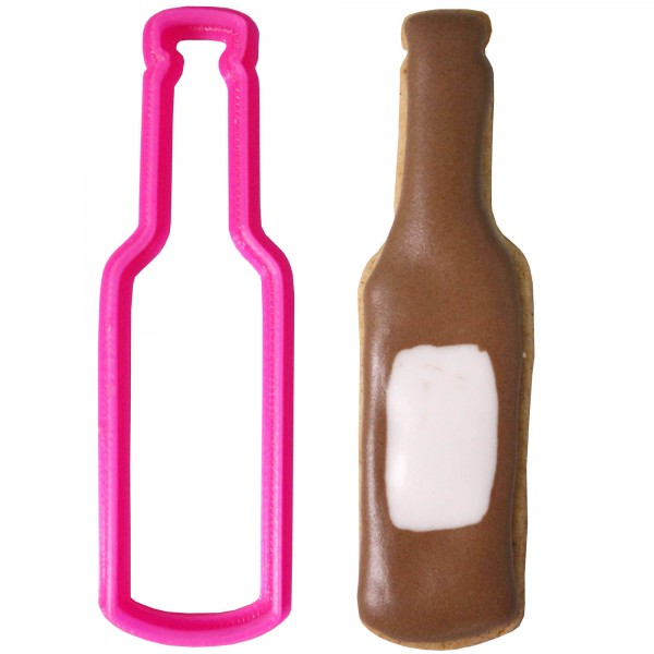 Crafty Cutters Plastic Beer Bottle Cookie Cutter