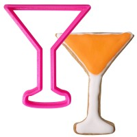Crafty Cutters Plastic Martini Glass Cookie Cutter