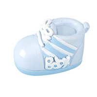 Resin Baby Bootie: Blue