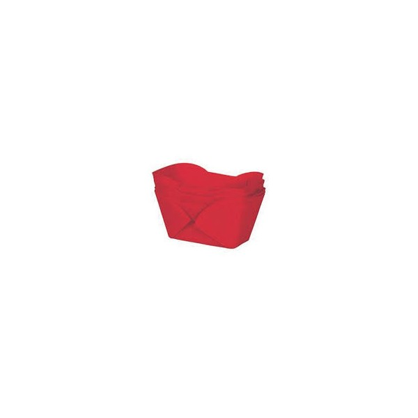 Red Mini Loaf Cases - 24pk