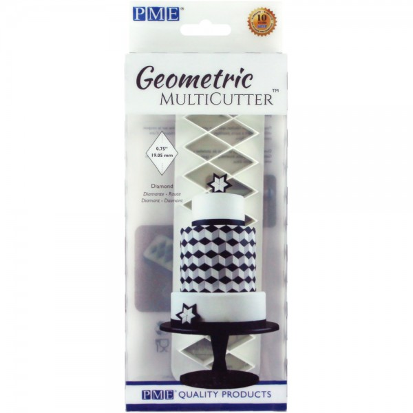 Diamond - Geometric Multi Cutter - Set of 3