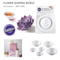 Wilton Flower Shaping Bowls - 6pc