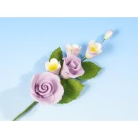 Lilac Rose with Apple Blossom - med