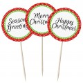 Mixed Festive Greetings - 12pk