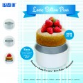Loose Bottom Round Cake Pans