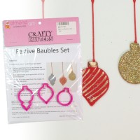 Festive Bauble Set - 3pc