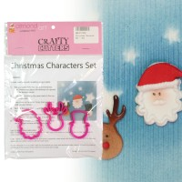 Christmas Character Set - 3pc