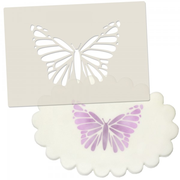 Decorative Butterfly Stencil