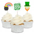 St. Patricks Day Cupcake Toppers - 12pk