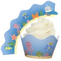 Under the Sea Cupcake Wrappers - 12Pk
