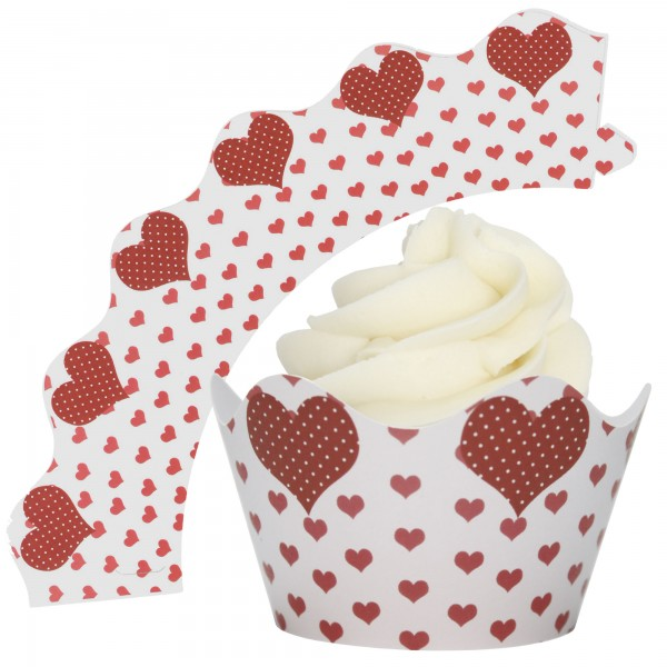 Valentine Cupcake Wrappers - 12Pk