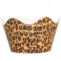 Leopard Print Cupcake Wrappers - 12Pk