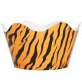 Tiger Print Cupcake Wrappers - 12Pk