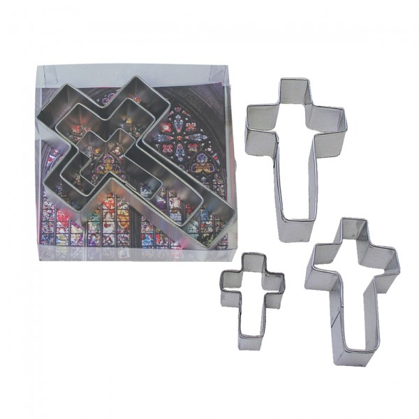 Crosses Cutter Set of 3