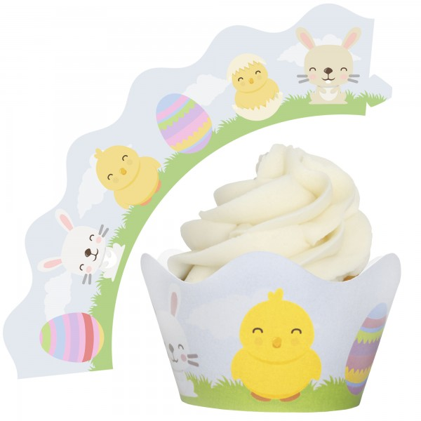 Easter Cupcake Wrappers - 12Pk