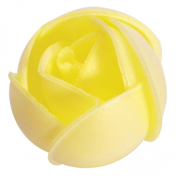 Large Yellow Wafer Rose