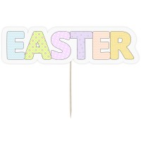 "Large ""Easter"" Cake Topper"