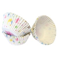 Baby Shower Baking Cases 50mm x 38mm Pk/100