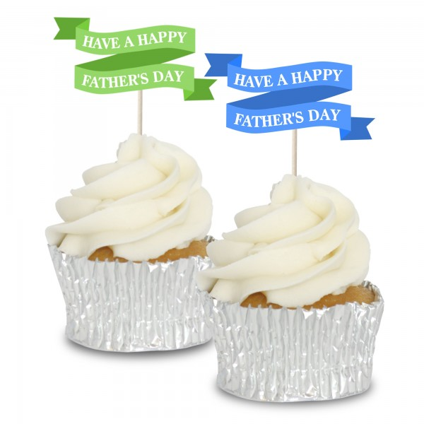 Happy Father's Day Banners - 12pk