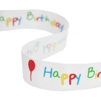"METRE - Multi ""Happy Birthday"" 25mm"